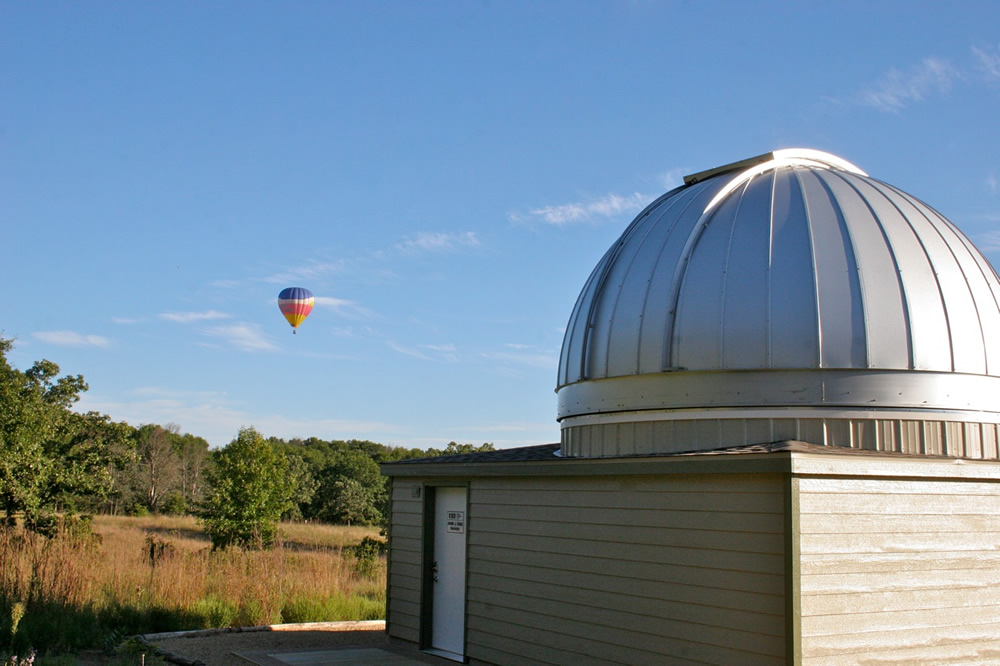 Casby Observatory Ash-Dome